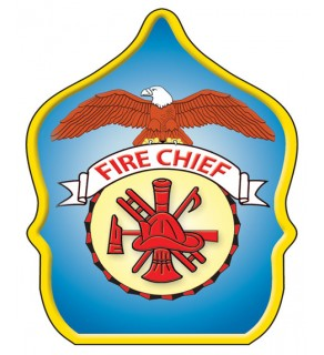 "Stock ""Fire Chief Eagle"" Fire Hat"