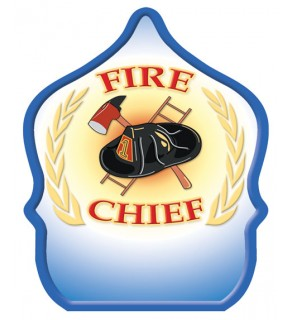 """Stock """"Fire Chief Wheat"""" Fire Hat"""