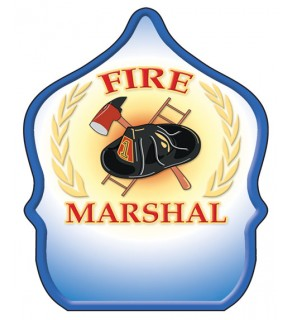 "Stock ""Fire Marshal"" Fire Hat"