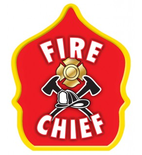 "Stock ""Fire Chief Red"" Fire Hat"