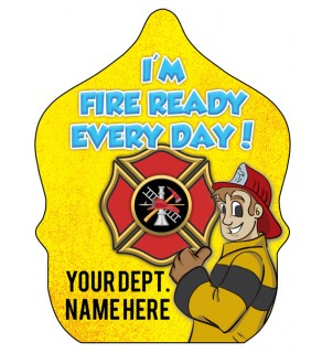 """Custom """"Ace - I'm Fire Ready Every Day"""" Fire Hat"""