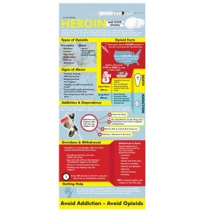 Heroin and Opioids Rack Card