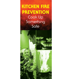 Kitchen Fire Prevention: Cook Up Something Safe Pamphlet