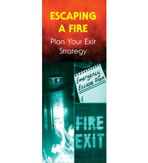Escaping a Fire: Plan Your Exit Strategy Pamphlet