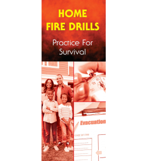 Home Fire Drills: Practice For Survival Pamphlet