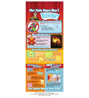 Fire Safe Every Day! Presentation Card