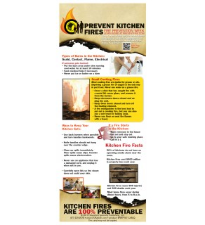Prevent Kitchen Fires Presentation Card