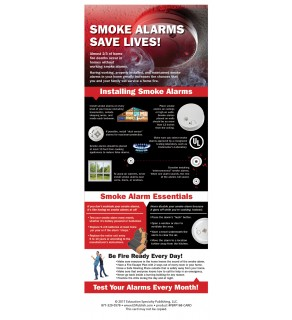 Smoke Alarms Save Lives! Presentation Card
