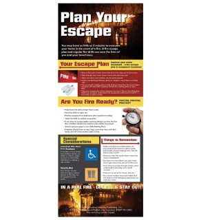 """Plan Your Escape"" Presentation Card"