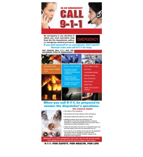 In an Emergency, Call 9-1-1 Presentation Card