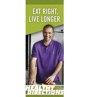 Eat Right Live Longer Pamphlet