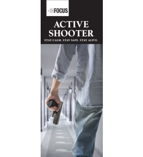 """""""Active Shooter: Stay Calm. Stay Safe. Stay Alive."""" Pamphlet"""