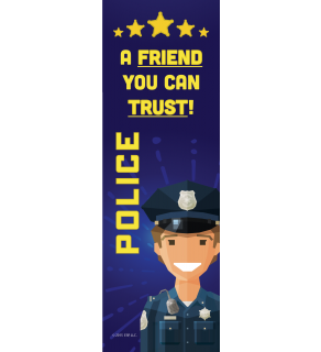 Police Bookmark Front