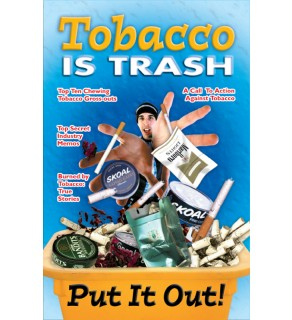 """Saying No!: Tobacco is Trash"" Mini-Mag"
