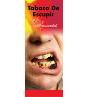 """""""In the Know: Spit Tobacco, The Ugly, Deadly Truth""""  Pamphlet     SPANISH Version"""