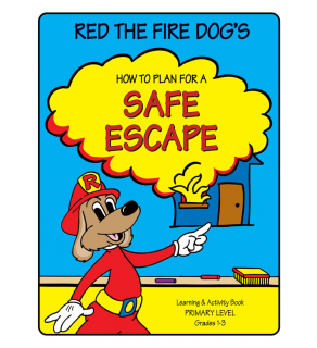 "Red the Fire Dog's ""How to Plan for a Safe Escape"" Activity Book"