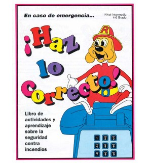 """Red's-In An Emergency...Do the Right Thing"" Activity Book     SPANISH Version"