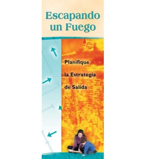 Escaping a Fire: Plan Your Exit Strategy Pamphlet in Spanish
