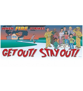Get Out! Stay Out! Banner