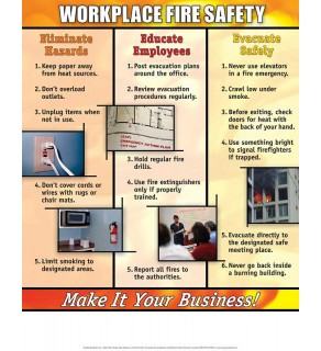 """Workplace Safety: Make it Your Business!"" Poster"