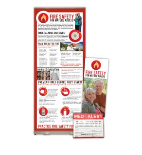 """""""Fire Safety for Mature Adults"""" Package"""