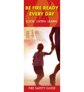 Be Fire Ready Every Day Look Listen Learn Pamphlet