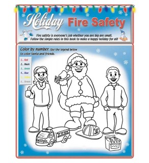 Holiday Fire Safety Activity Book