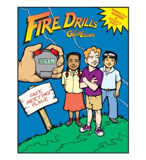 """""""Fire Drills: The Great Escape!"""" Activity Sheet"""