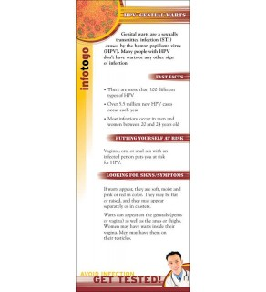 Info to Go: Genital Warts/HPV Card
