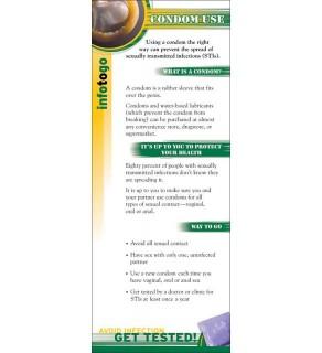 Info to Go: How to Use a Condom Card