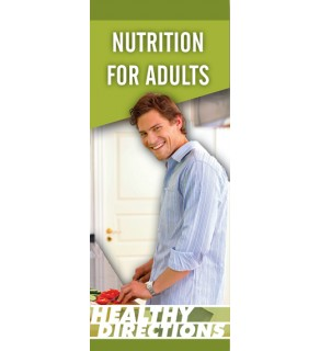 Nutrition for Adults Pamphlet