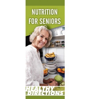 Nutrition for Seniors Pamphlet