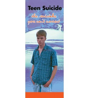 In The Know: Teen Suicide- The Mistake You Can't Correct Pamphlet