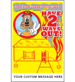 Have 2 Ways Out Poster