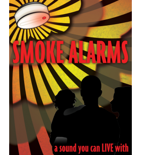 """Smoke Alarms: A Sound You Can Live With"" Poster"