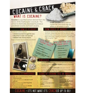 In the Know: Cocaine and Crack Wall Display Graphic