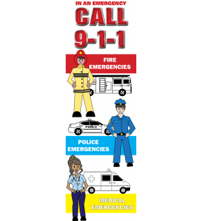 In An Emergency Call 9-1-1! Front