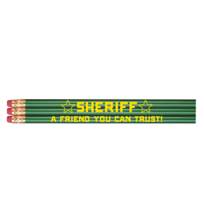 """Stock Sheriff """"A Friend You Can Trust"""" Pencil"""