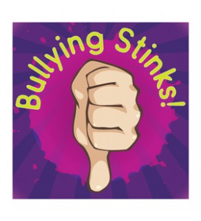 """""""Bullying Stinks"""" Removable Tattoo"""
