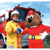 """Red's Our Friends the Firefighters"" DVD"