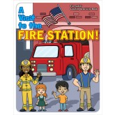 """A Visit to the Fire Station"" Activity Book Cover"