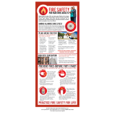 """Fire Safety for Mature Adults"" Presentation Card"