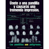 Join A Gang And You Will Make A Big Impression Laminated Poster SPANISH Version