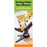 "In the Know - ""Driving Under the Influence: A Crash Course""  Pamphlet"