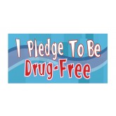 """I Pledge to be Drug Free"" Pledge Card"