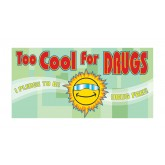 """Too Cool for Drugs"" Pledge Card"