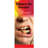 """In the Know: Spit Tobacco, The Ugly, Deadly Truth""  Pamphlet     SPANISH Version"
