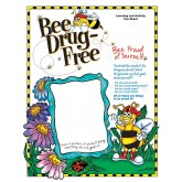 """Bee Drug Free"" Activity Sheet"