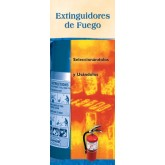Fire Extinguishers: Choosing Them and Using Them Pamphlet Spanish