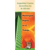 Office Fire Safety: Stay Safe on the Job Pamphlet in Spanish